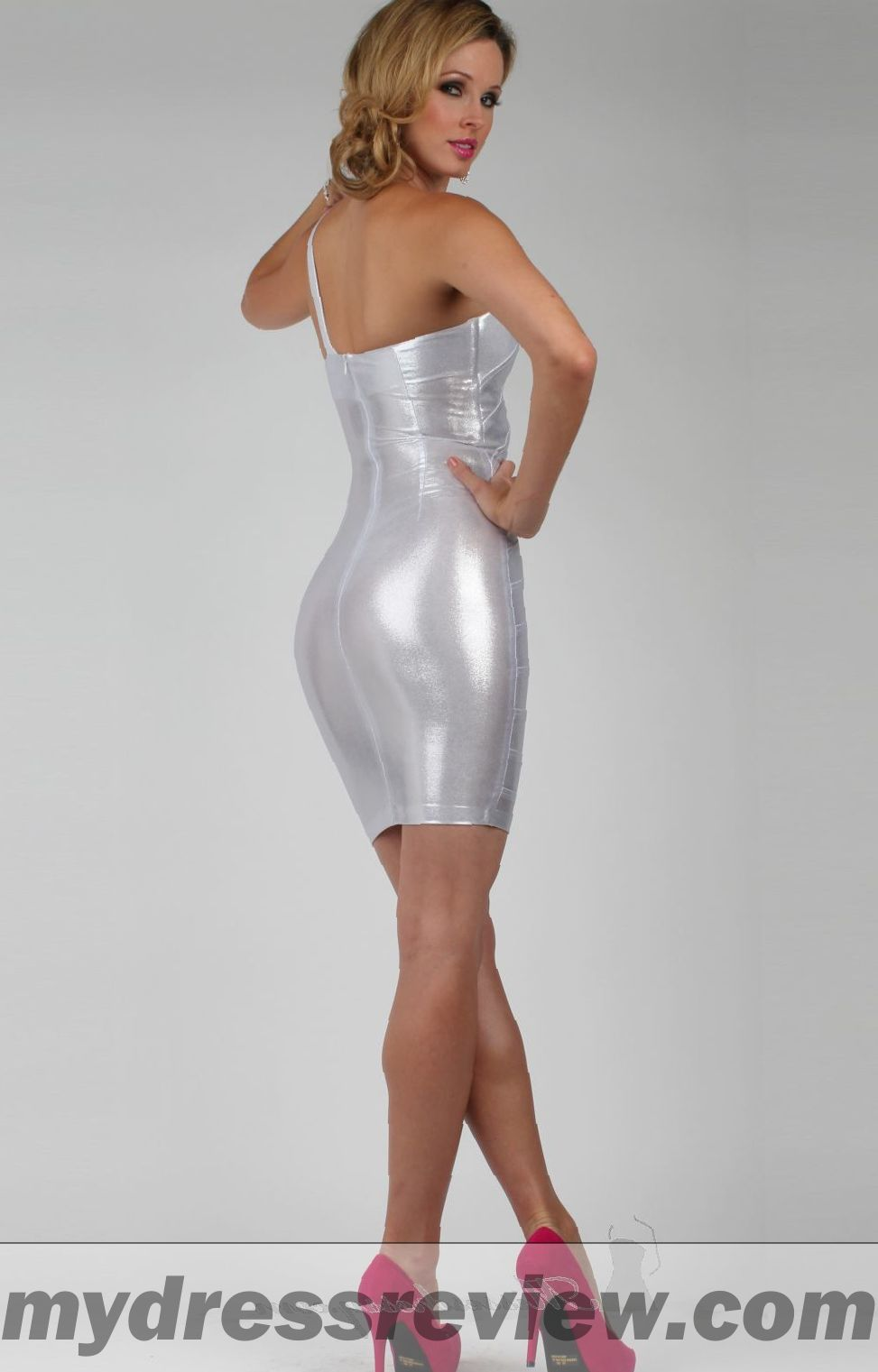 Dress Metallic - Review Clothing Brand