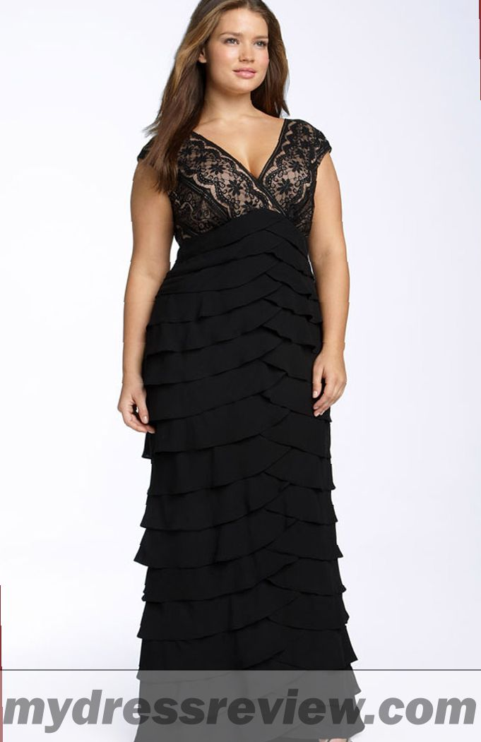 Long Black Dress Plus Size Cheap Oscar Fashion Review Mydressreview