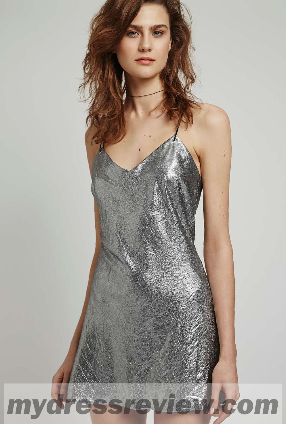 Metallic Foil Dress & Choice 2017