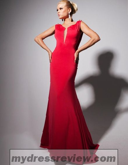Red Backless Mermaid Prom Dress And Style 2017-2018