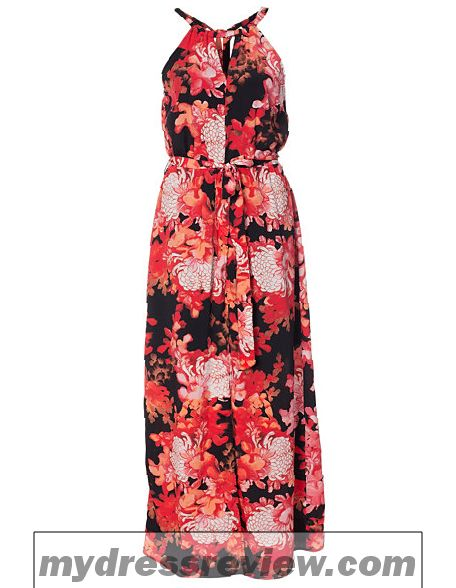 River Island Red Floral Maxi Dress - Popular Choice 2017