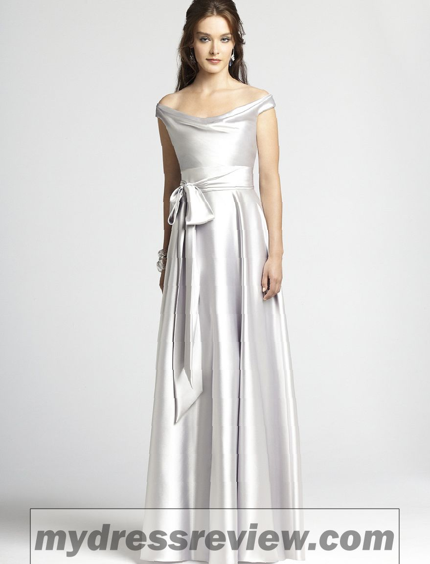 743e94adfed Silver Metallic Bridesmaid Dresses And Clothing Brand Reviews ...