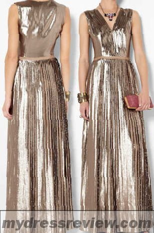 Silver Metallic Maxi Dress & Make You Look Like A Princess