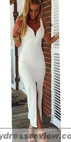 White Maxi Dress Bodycon - Popular Choice 2017