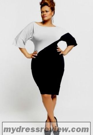 White Peplum Plus Size Dress : Fashion Show Collection