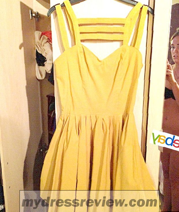 Ebay yellow skater dress aimi jones