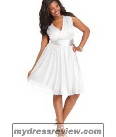 All White Party Dresses For Plus Size And Make Your Evening Special