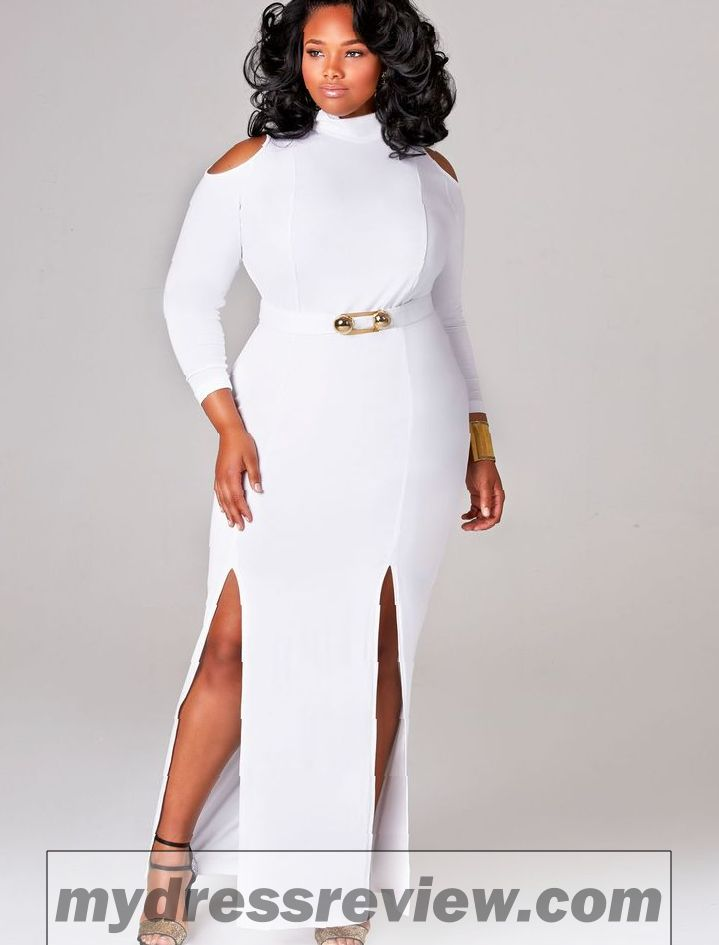 Plus size dresses for white party