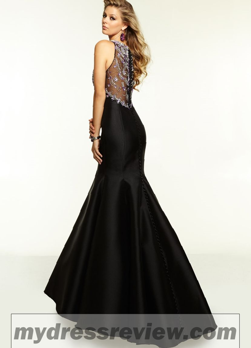Black Mermaid Style Dress & Where To Find In 2017