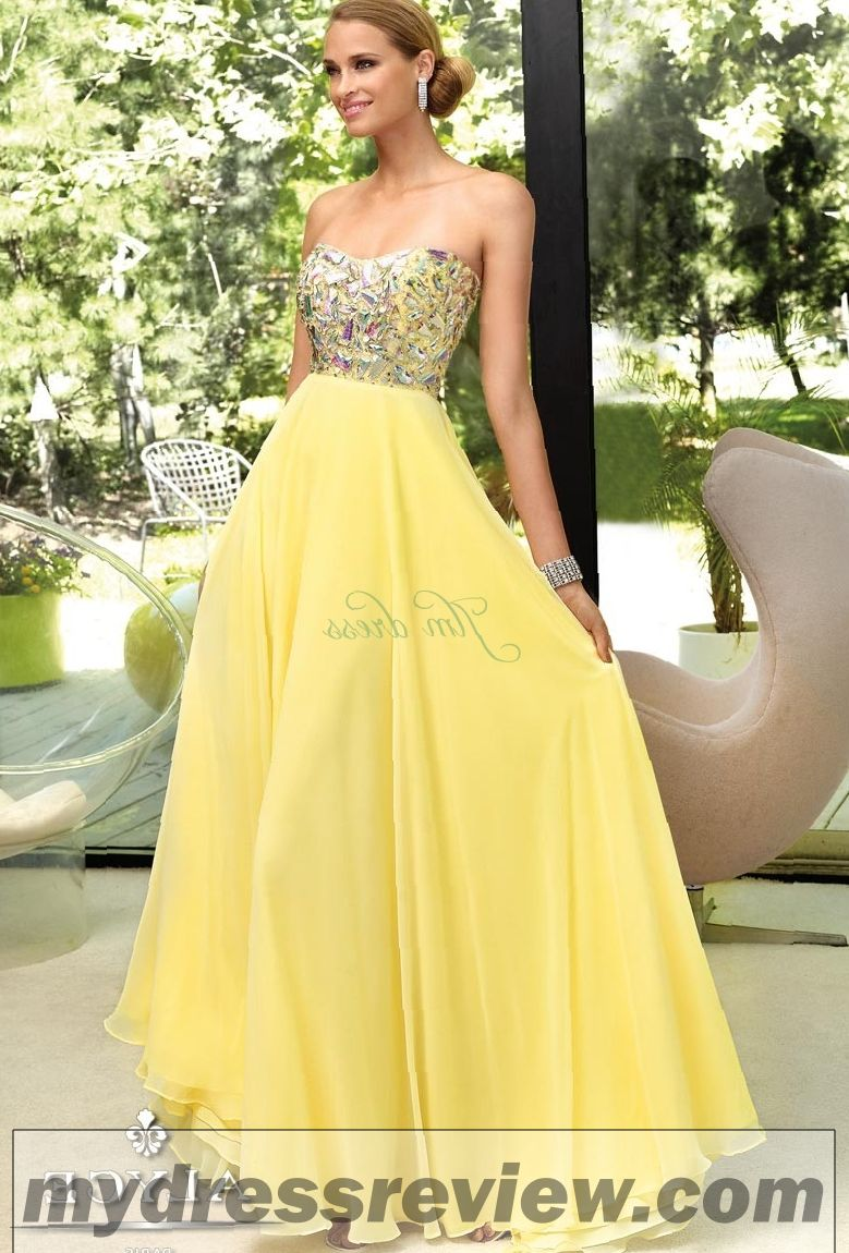 Floor Length Yellow Dress : Perfect Choices