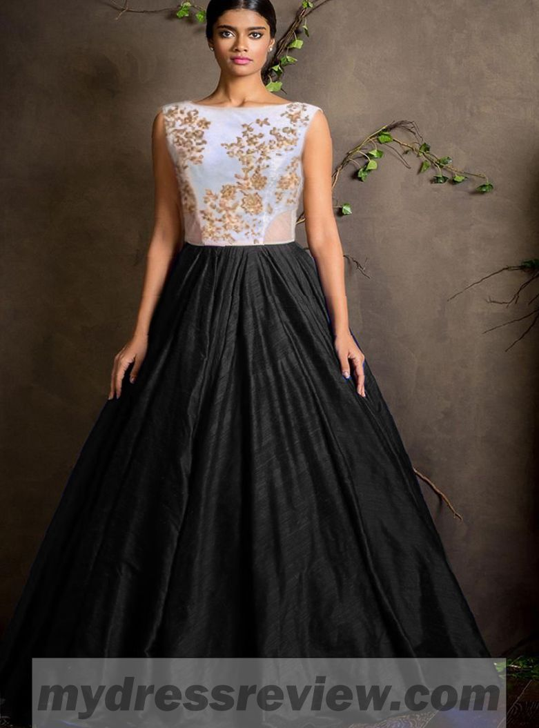 e59d8a48205 ... black colour floor touch semi stitched designer gown   48%. Floor Touch  Dresses Online And New Fashion Collection