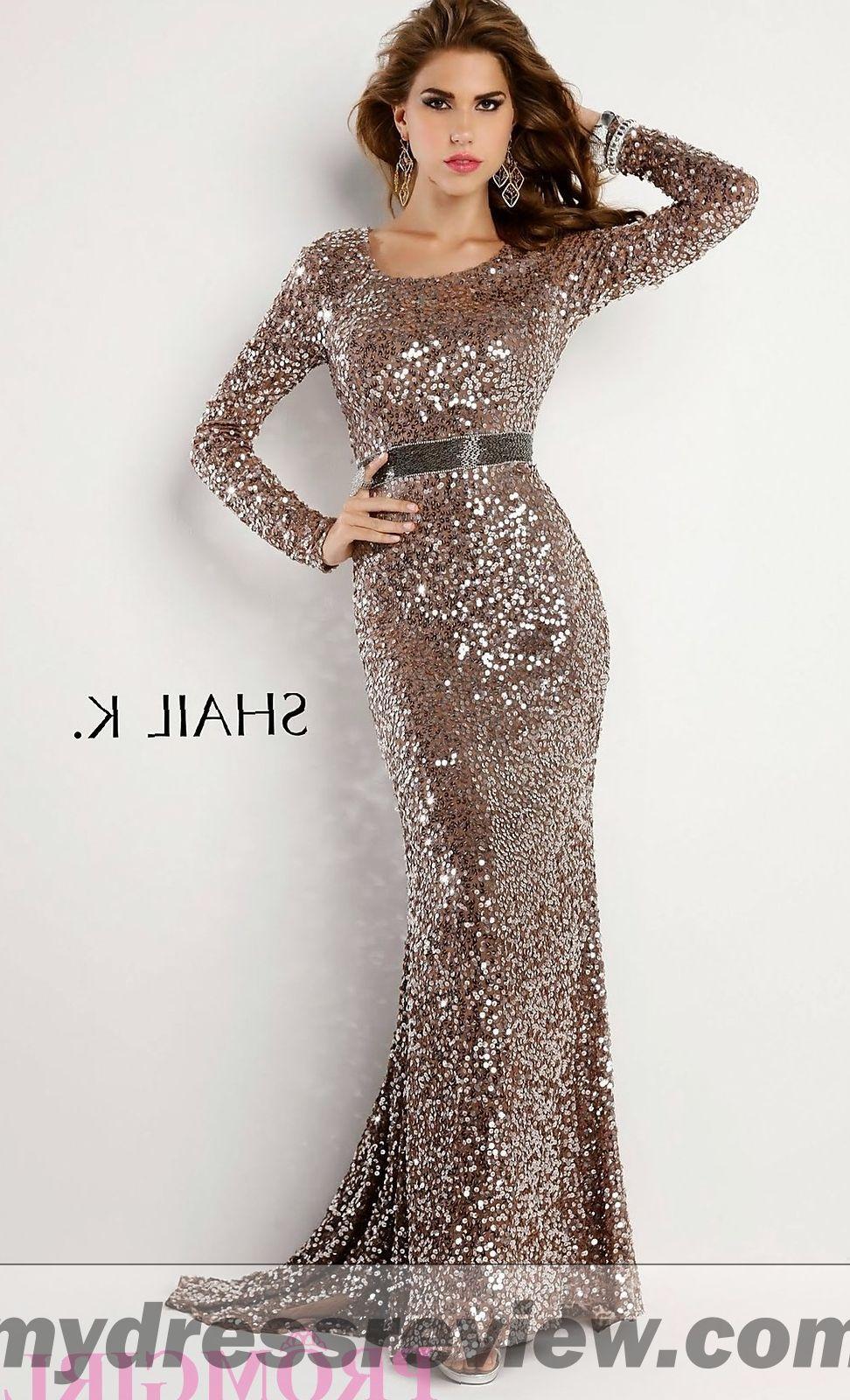 Long Silver Dress