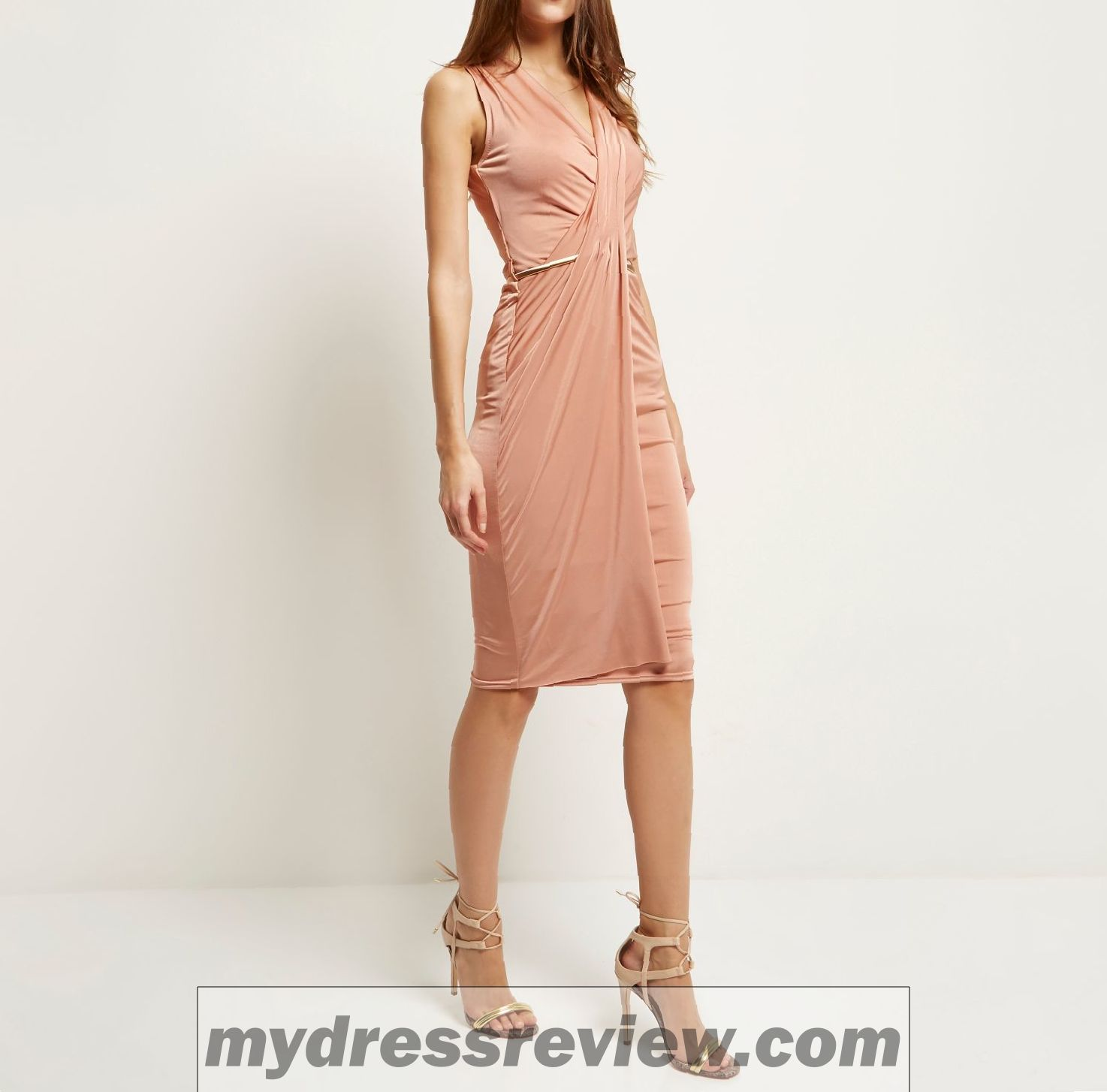 81c0e5cb729 Pink Dress River Island And Make Your Evening Special - MyDressReview