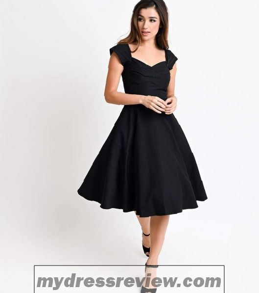 Stop Staring Black Dress - Review Clothing Brand