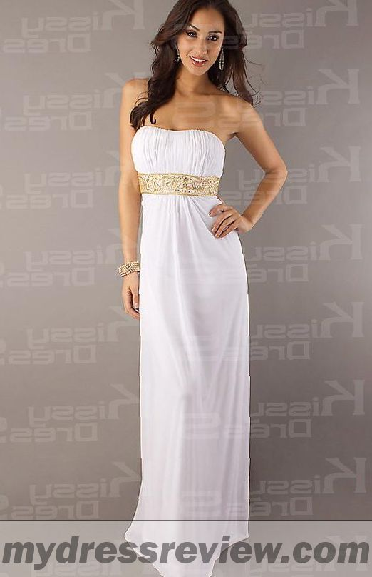 Strapless Floor Length Dress And Trend 2017-2018