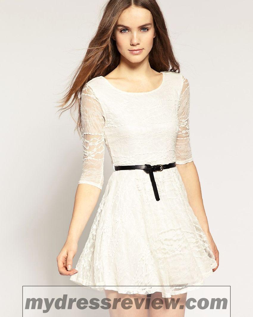 River Island Black And White Stripe Bandeau Prom Dress