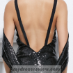 floor-length-black-sequin-dress-look-like-a