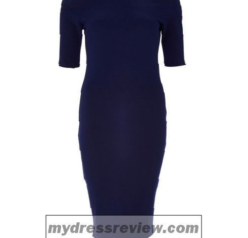 navy-bodycon-dress-river-island-2017-2018
