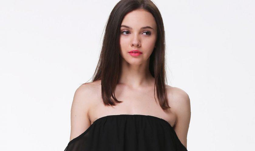 off-the-shoulder-black-long-sleeve-dress-fashion