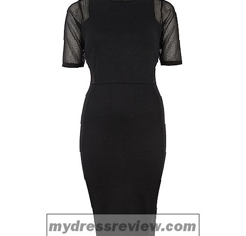 river-island-black-mesh-dress-and-clothing-brand