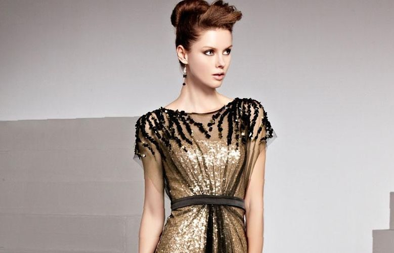 short-black-and-gold-prom-dresses-always-in-vogue