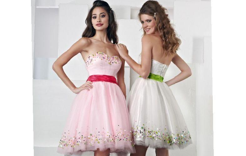 white-dresses-for-girls-graduation-different