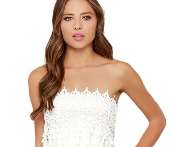 white-lace-dress-strapless-and-popular-styles-2017