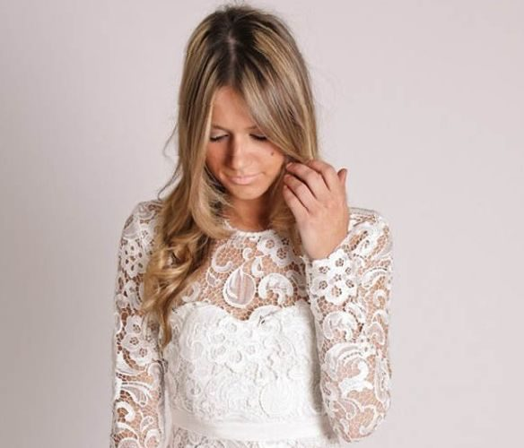 white-lace-short-dress-long-sleeve-the-trend-of