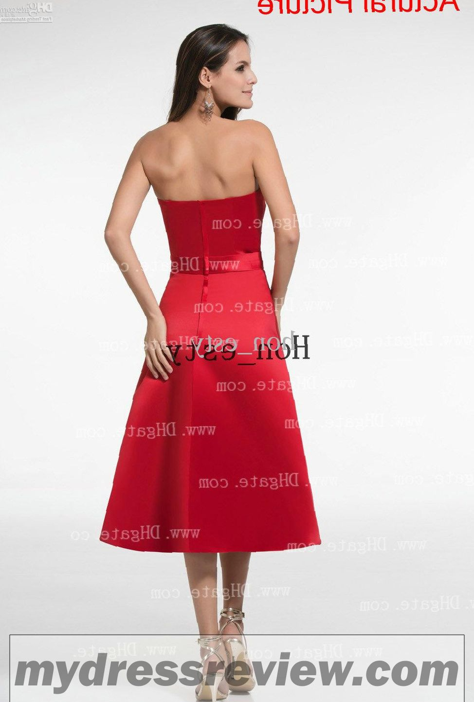 Black And Red Maid Of Honor Dresses : Overview 2017