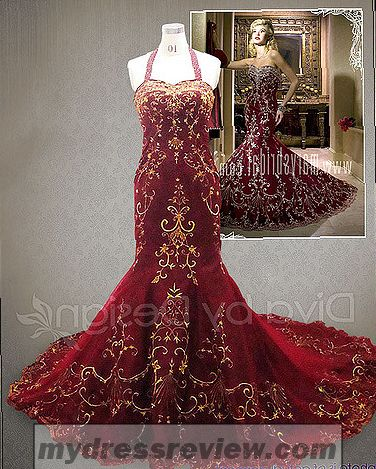 Bridesmaid Dresses Red And Gold - Always In Style 2017-2018