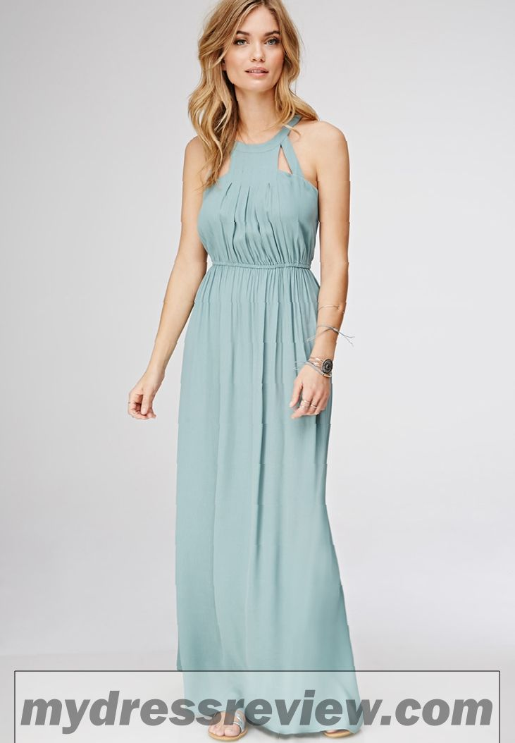 Halter Style Maxi Dress Amp Review Clothing Brand