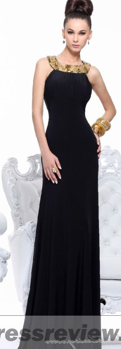 Long Gold And Black Dress Trend 2017 2018 Mydressreview