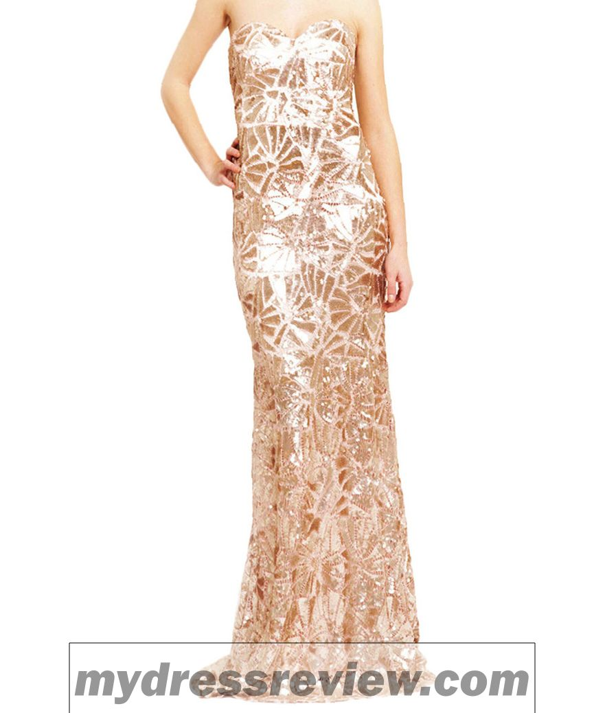 Maxi Gold Sequin Dress & Clothing Brand Reviews