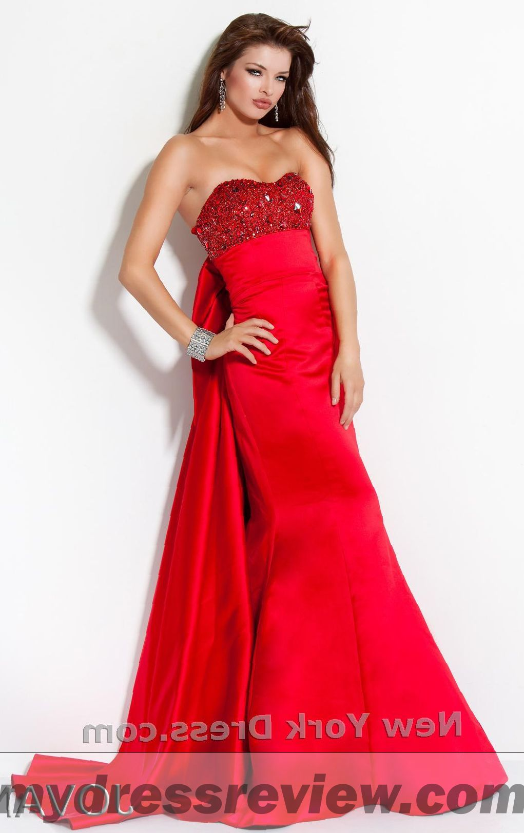 Red Matron Of Honor Dresses And Trend 2017 2018