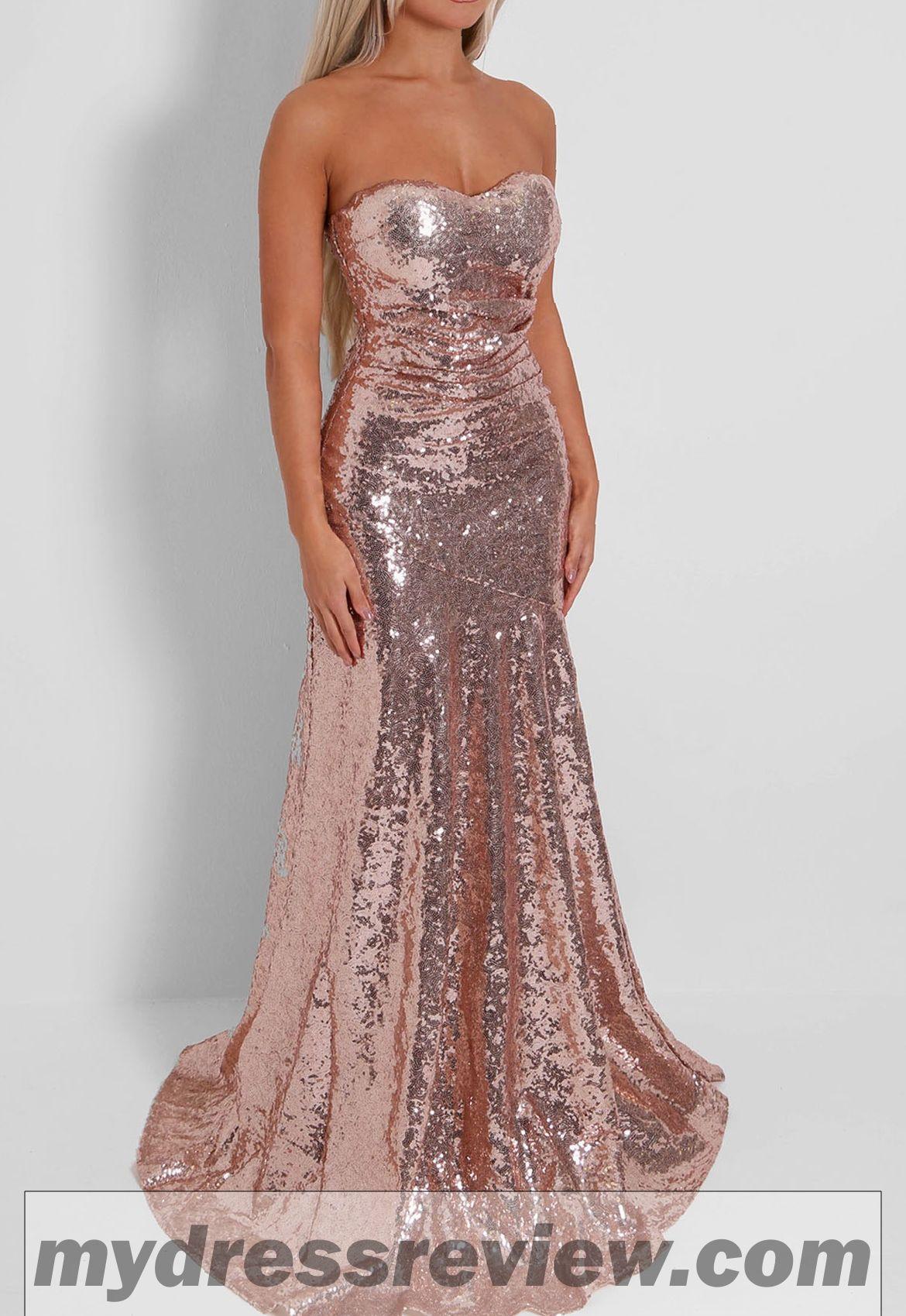 606373fedf Strapless Sequin Maxi Dress   Always In Vogue 2017 - MyDressReview