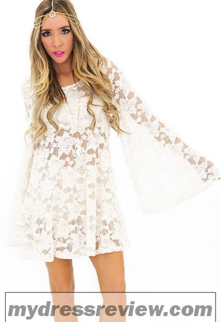 White Sleeve Lace Dress & 2017 Fashion Trends