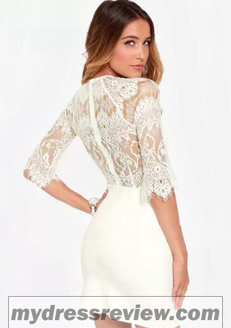 Black And White Lace Bodycon Dress - The Trend Of The Year ... 254cdbdf5