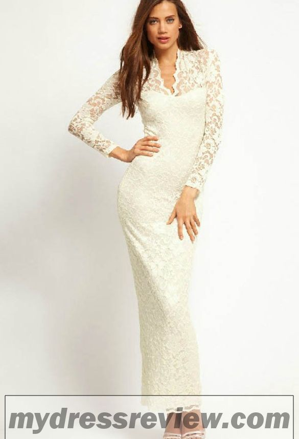 Long White Dress With Lace : 18 Best Images