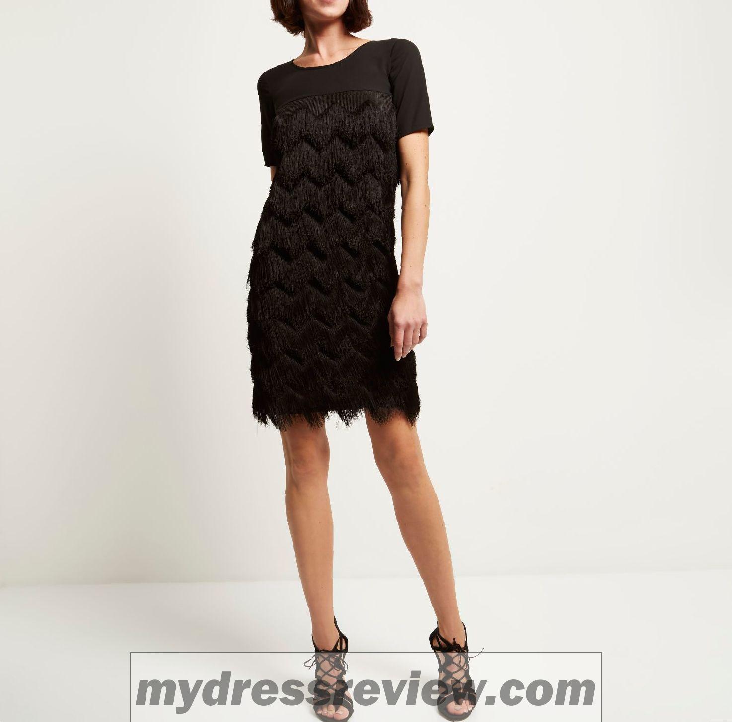 944a6ea02a0 Little Black Dress T Shirt River Island