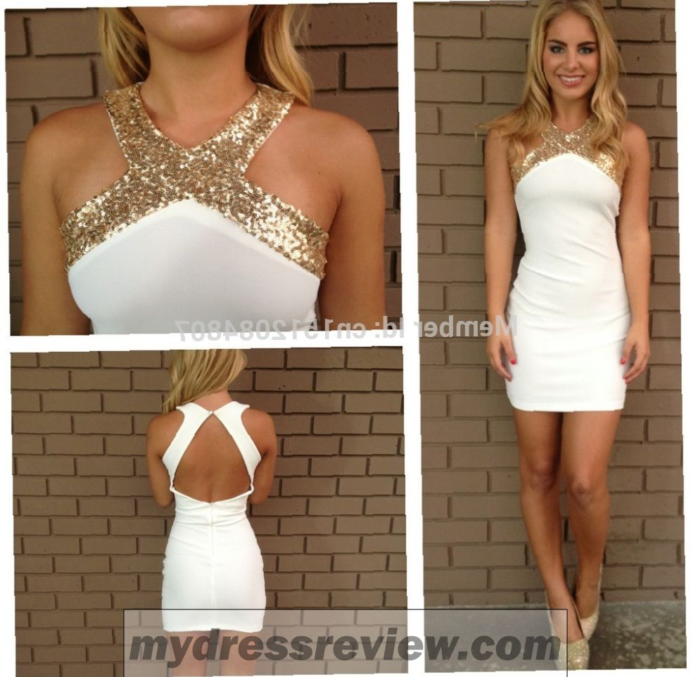White Gold Formal Dress And Style 2017-2018 - MyDressReview