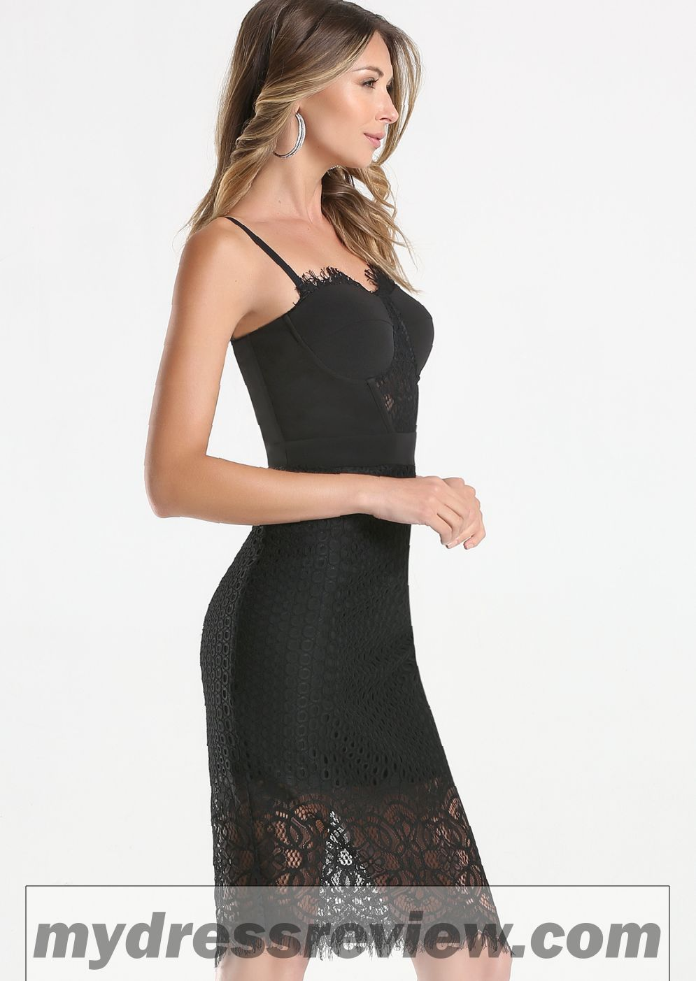Bebe Lace Halter Dress & Fashion Outlet Review