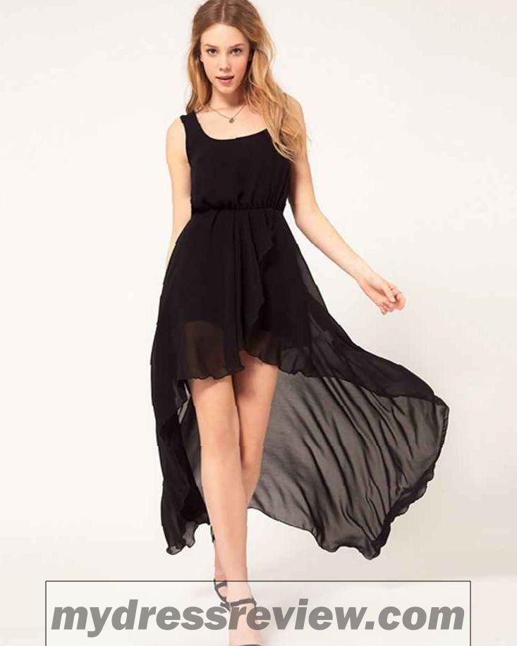 Black Color One Piece Dress : Fashion Show Collection
