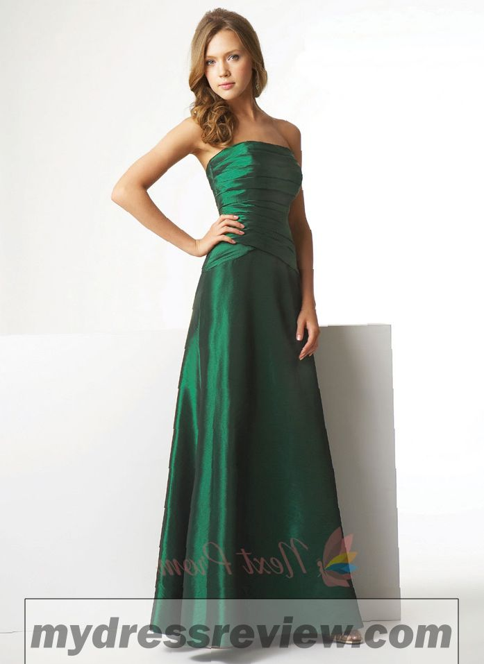 Emerald Green Bridal Dresses & Where To Find In 2017
