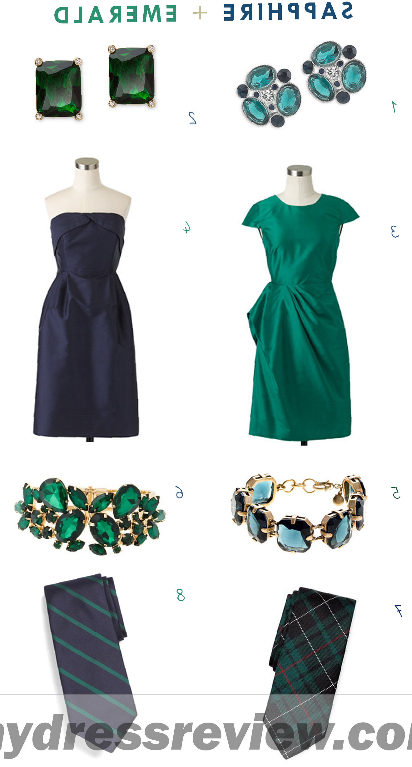 Emerald Green Dress And Accessories & Make You Look Like A Princess