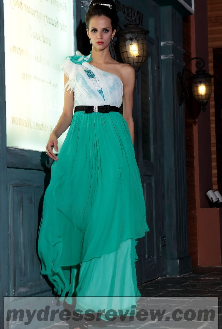 Green And White Prom Dresses - Be Beautiful And Chic
