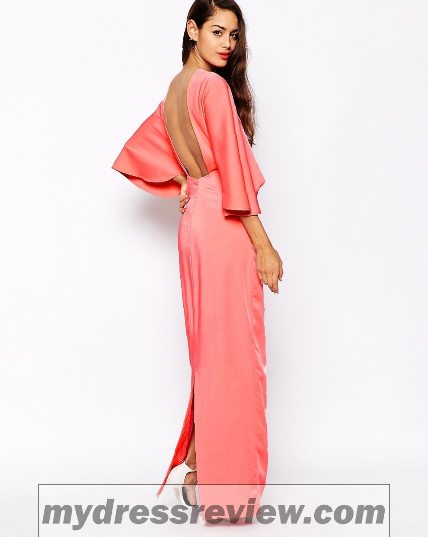 Long Sleeve Kimono Maxi Dress And Trend 2017-2018