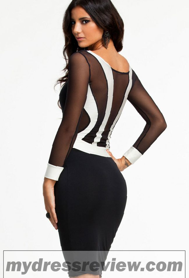 Long Sleeve Plus Size Bodycon Dress : Fashion Show Collection