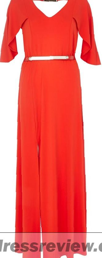 Red Maxi Dress River Island : New Trend 2017-2018
