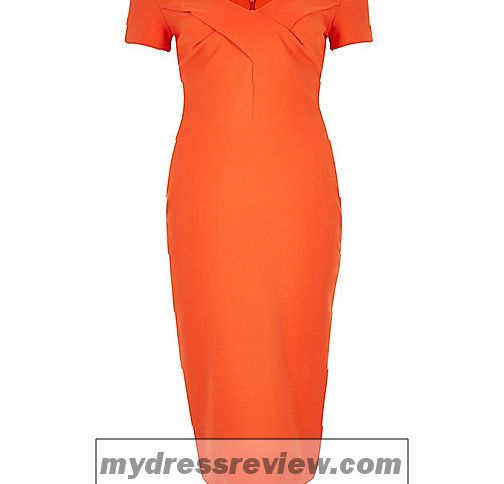 River Island Peach Dress - Clothes Review