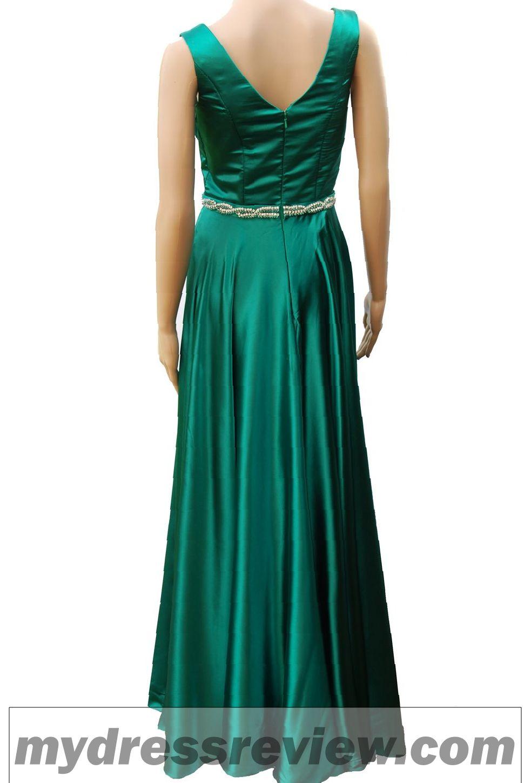 Satin Emerald Green Dress : Oscar Fashion Review - MyDressReview